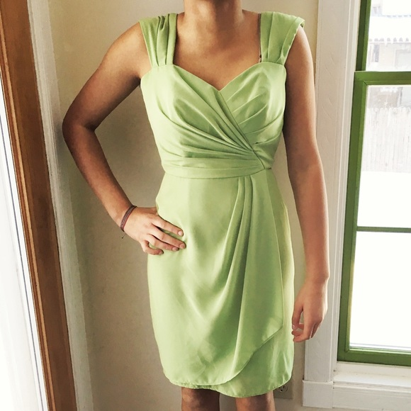 After Six Dresses & Skirts - After Six Cocktail Dress, Appleslice Green, size 0